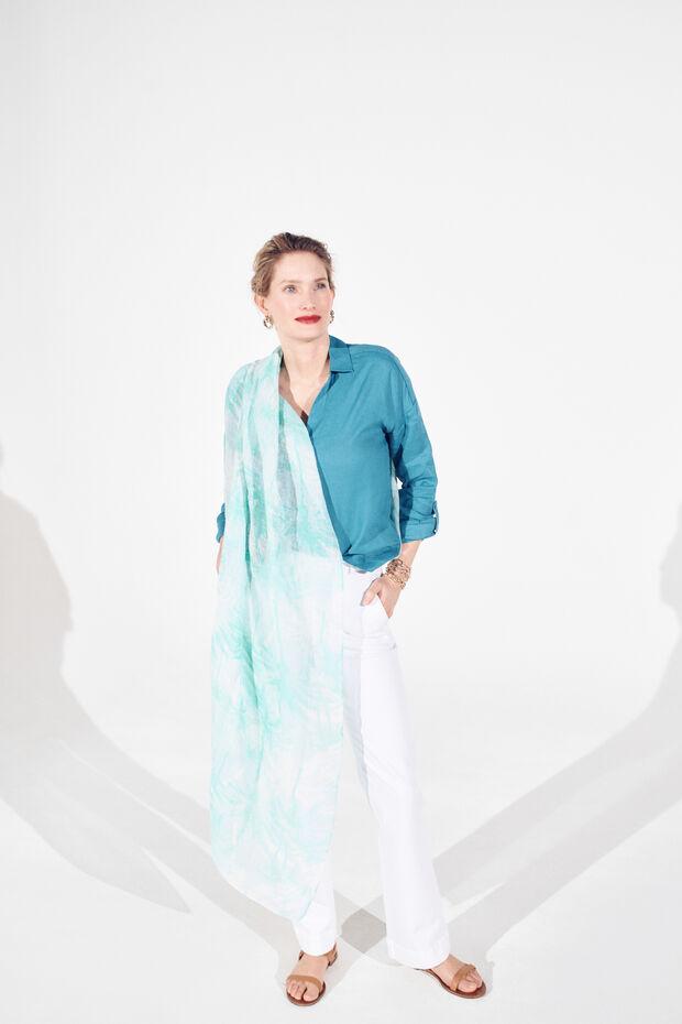 foulard mahdi 100% lin - Caroll