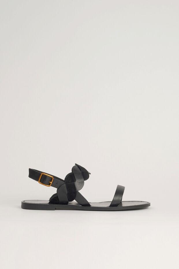 sandale samia 100% cuir - Caroll