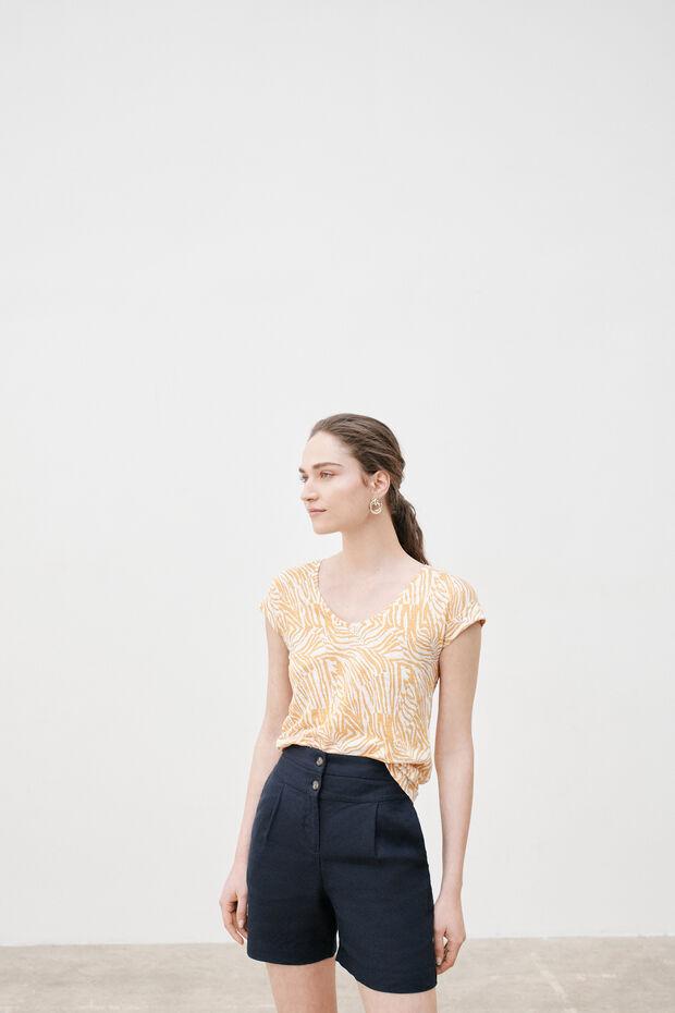 Shorts Rafaello 100% lino - Caroll