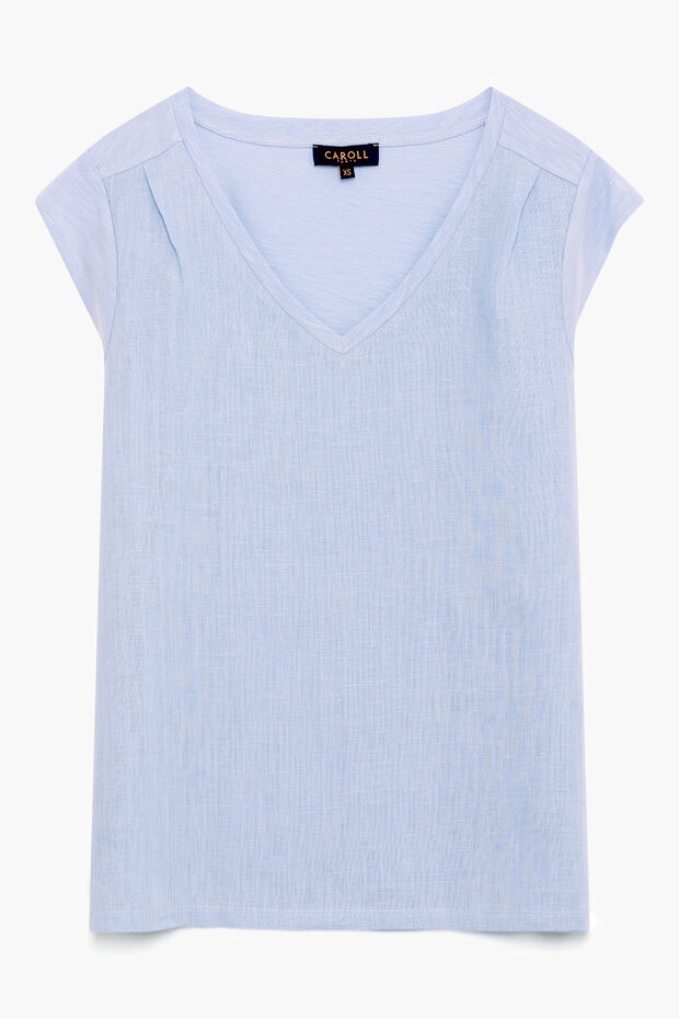 T-shirt en lin Melanie - Caroll