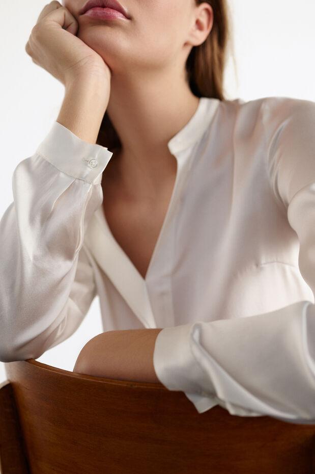 Zijden blouse Marie