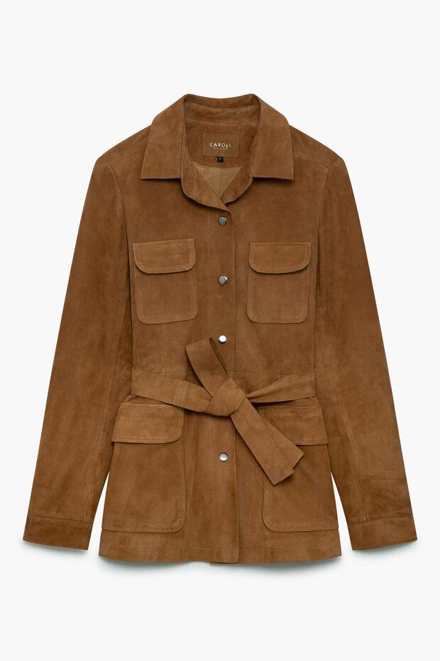 veste janice 100% cuir - Caroll