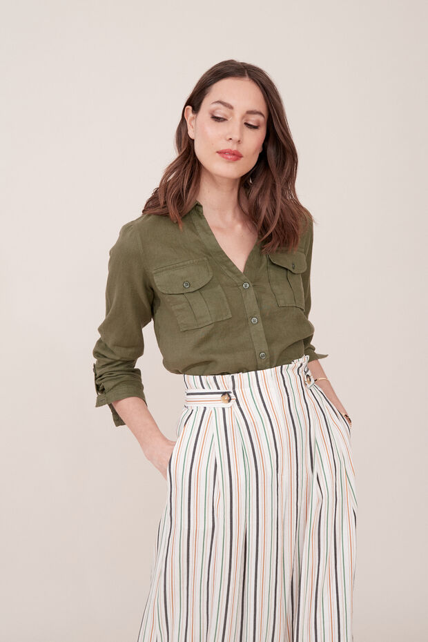 Camisa de lino Tamaris