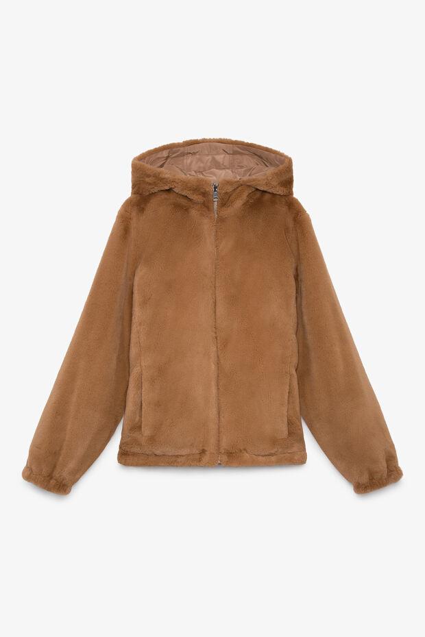 Abrigo  piel sintética Gus
