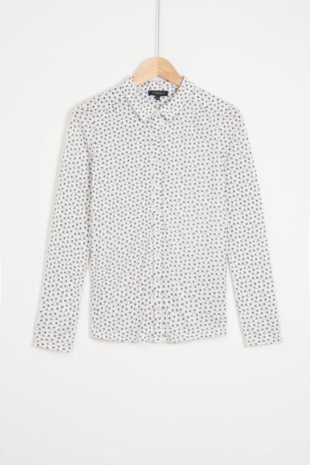 T-shirt taglio a camicia Maelys - Caroll