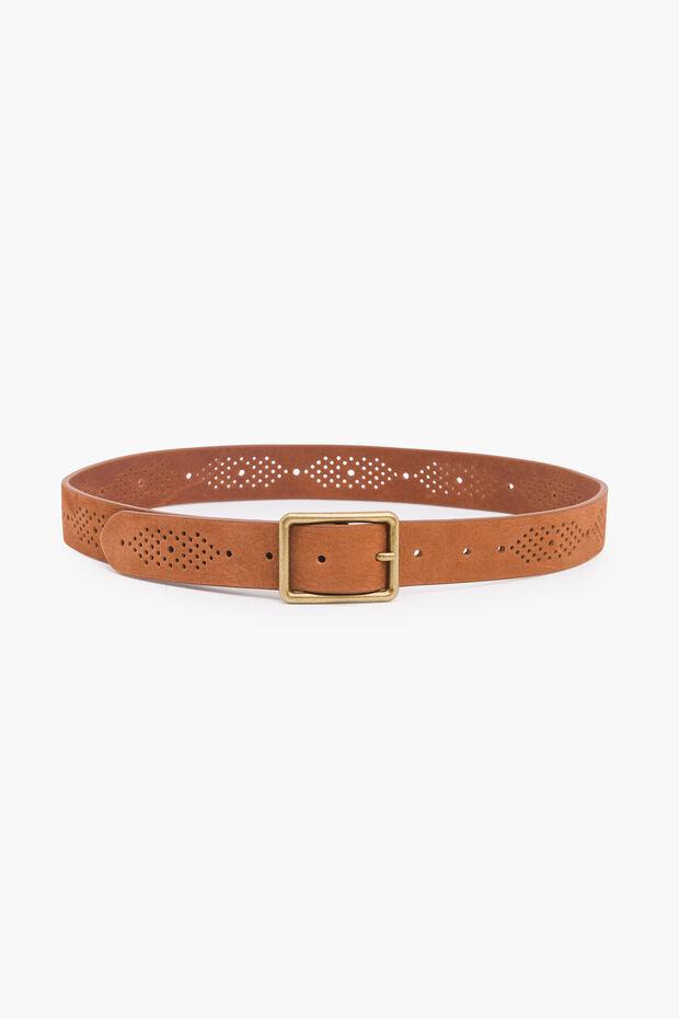 Cinturón de cuero Clever