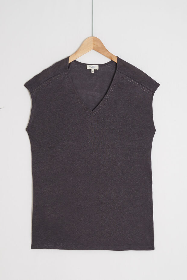 100% linnen T-shirt Lupita - Caroll