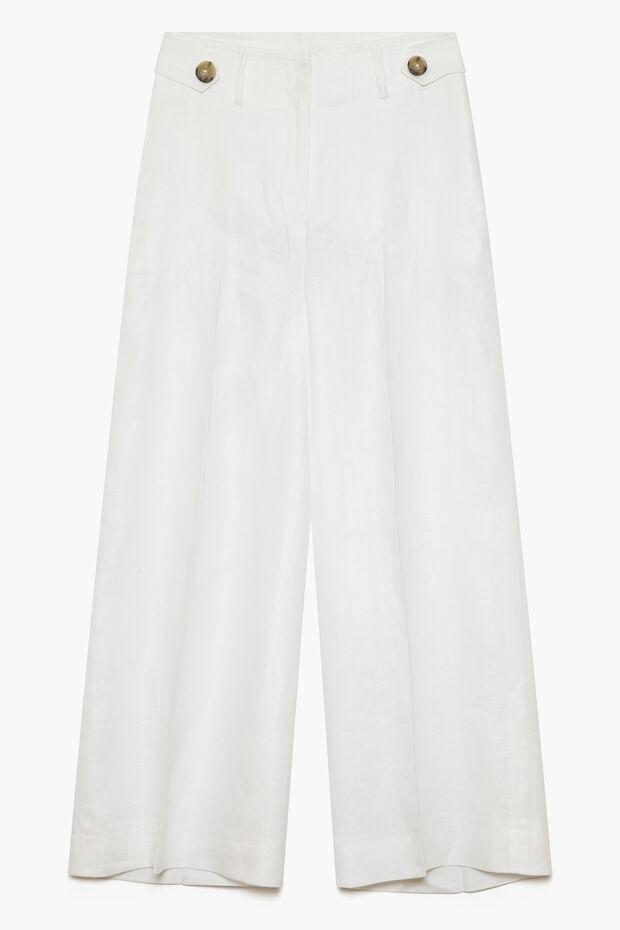 Pantalon en lin Ara