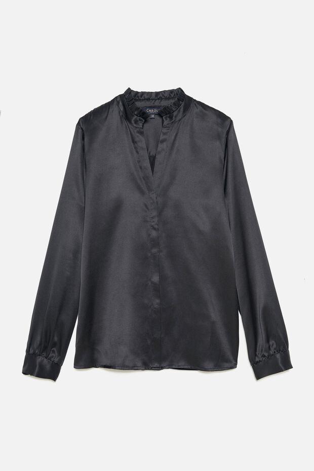 Camicia Tess 100% seta - Caroll