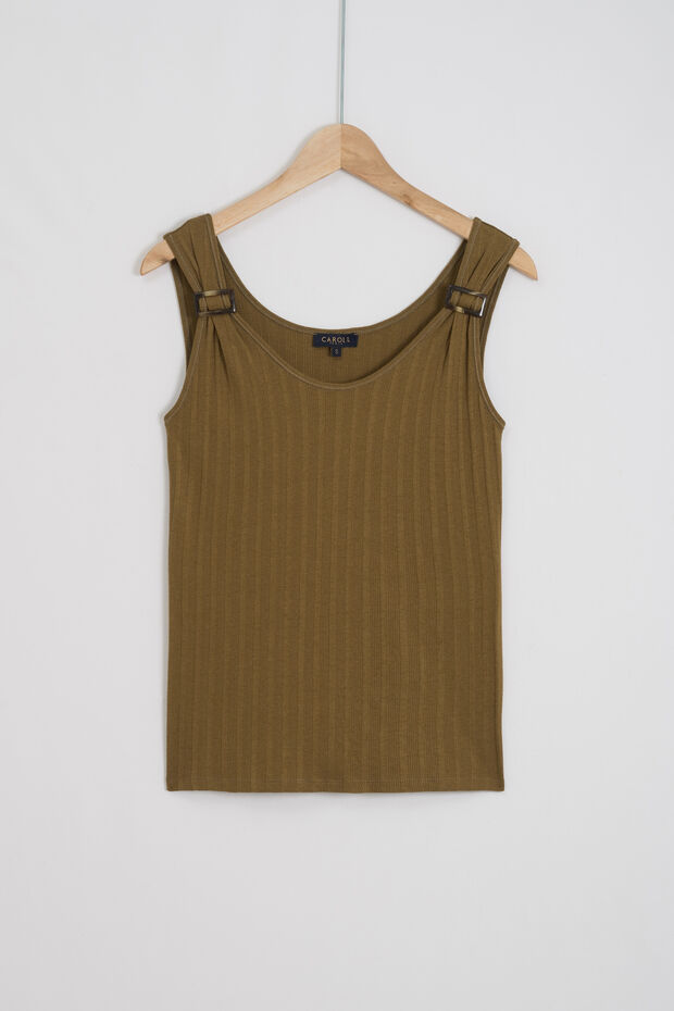 camiseta sin mangas erica - Caroll
