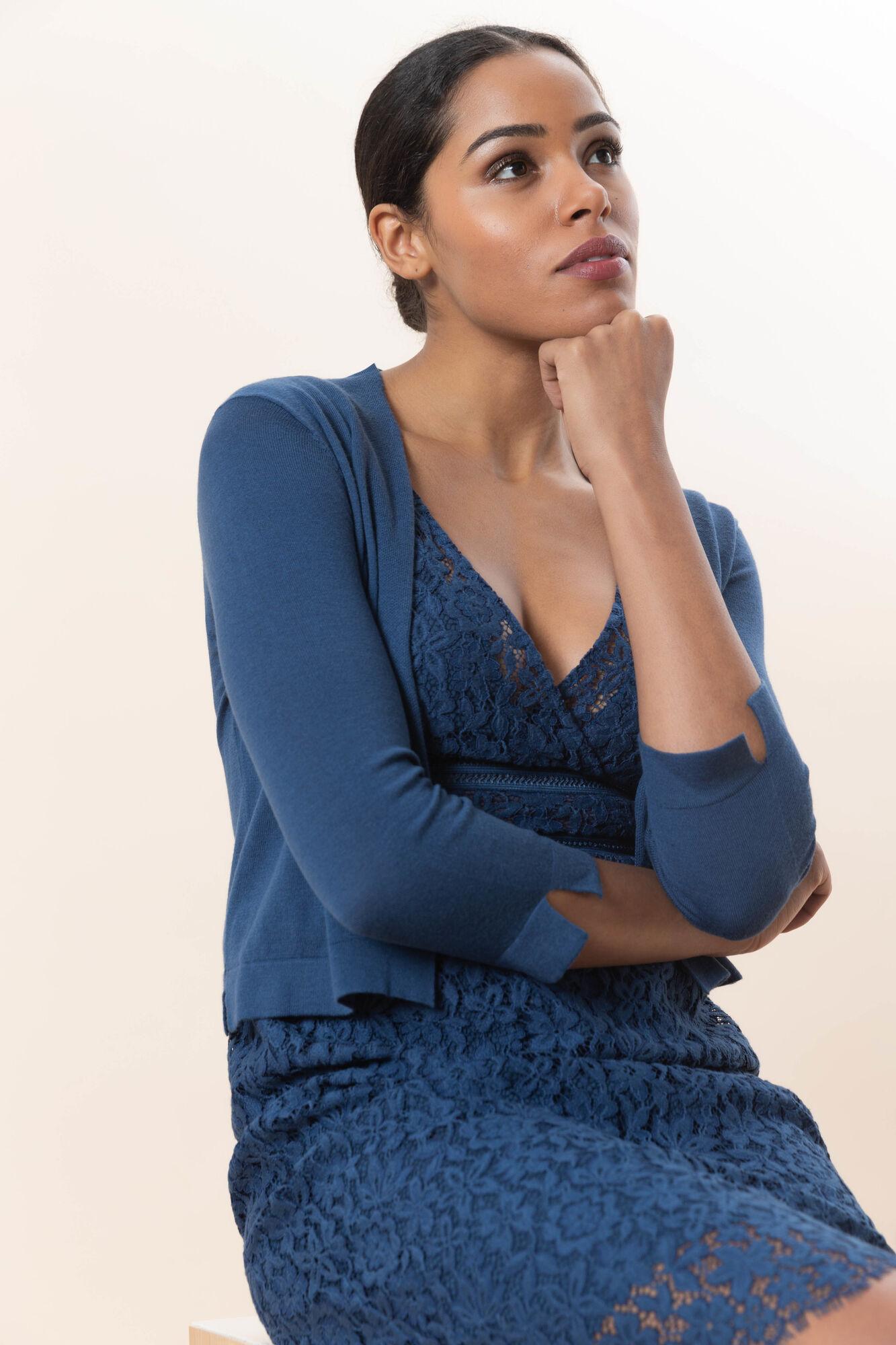 c55bdc02704e24 Trui Cassandra  Katoenen trui en vest voor dames voor € 65