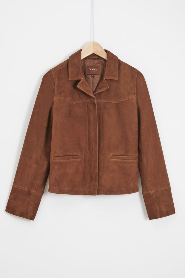 blazer yael 100% cuir - Caroll