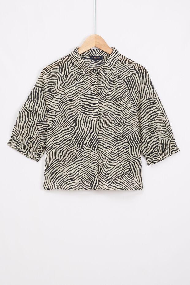 chemise zebra - Caroll