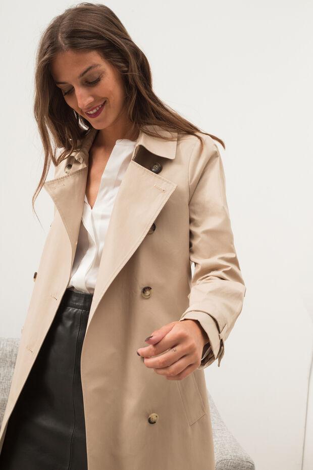 0fb539255c7d4 Trench Tuileries   Manteau femme Beige en à 175.00 €