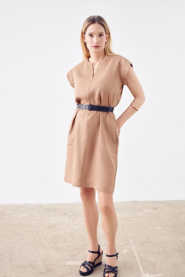 100% linnen jurk Shane - Caroll