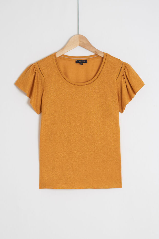 t-shirt davy 100% lin - Caroll