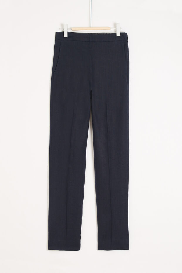Pantaloni Maurizio 100% lino - Caroll