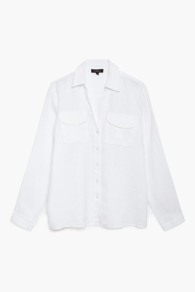 camisa tamaris 100% linho - Caroll