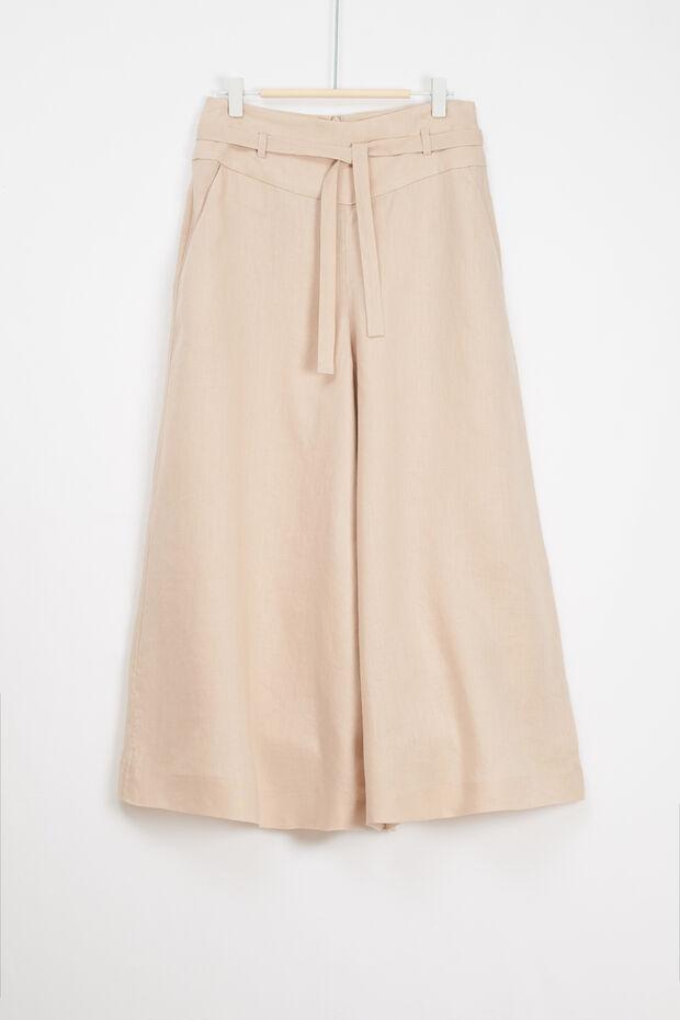 jupe culotte sari 100% lin - Caroll