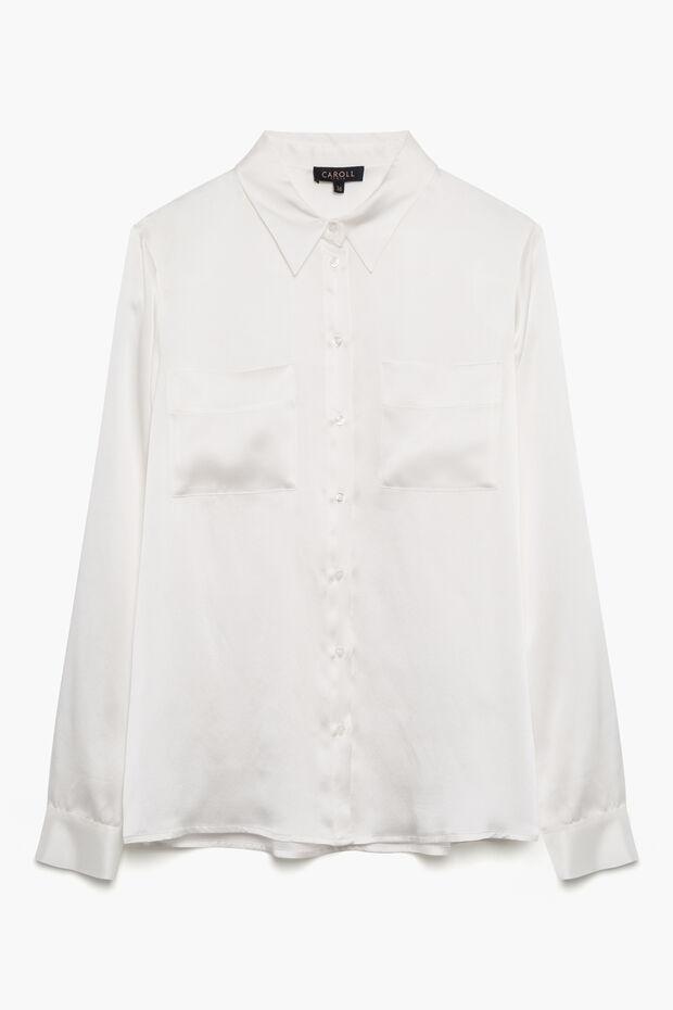 chemise jeanne 100% soie - Caroll