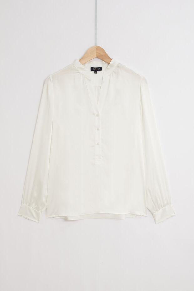 chemise shine 100% soie - Caroll