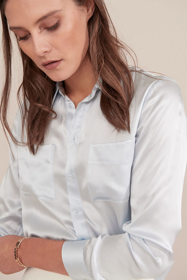 Chemise en soie Jeanne