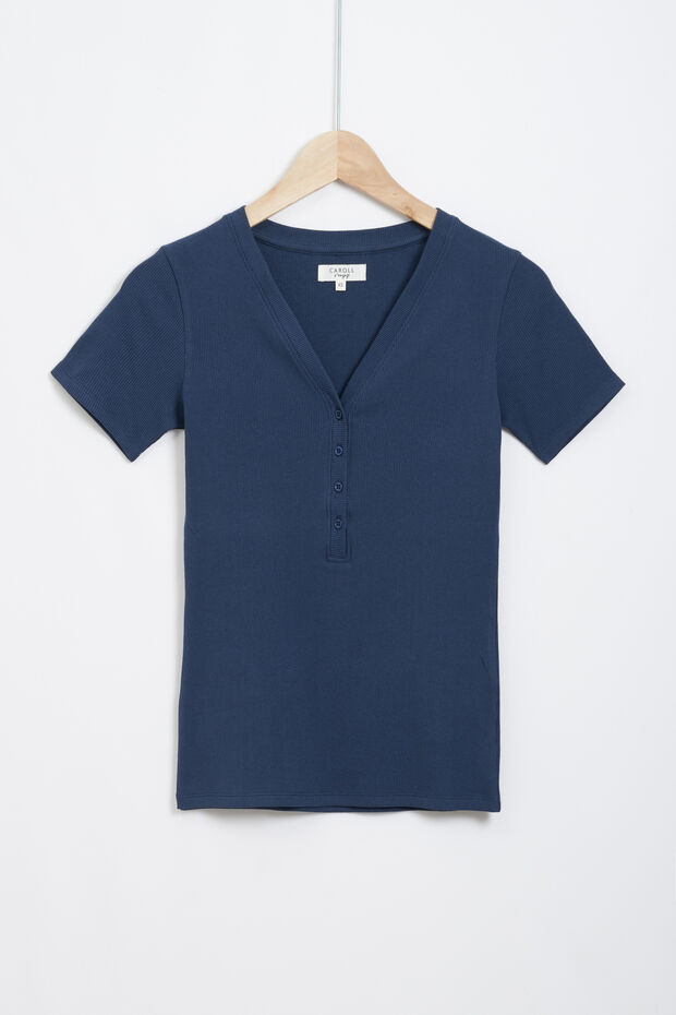 t-shirt slima - Caroll