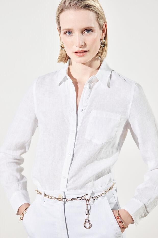 chemise nino 100% lin - Caroll