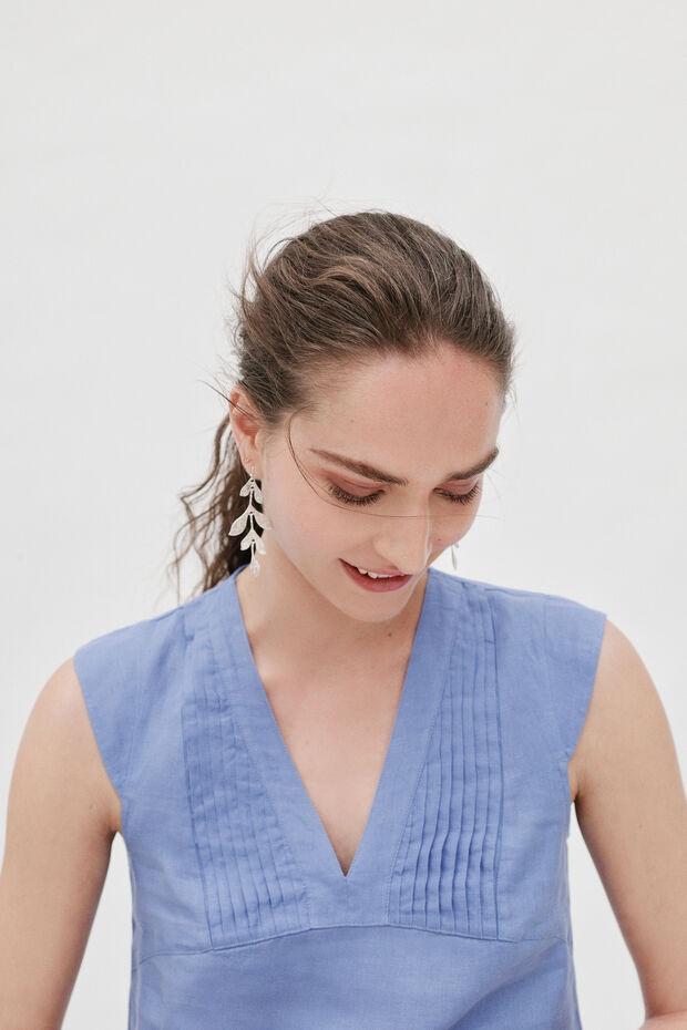 Blusa Fary 100 % lino - Caroll