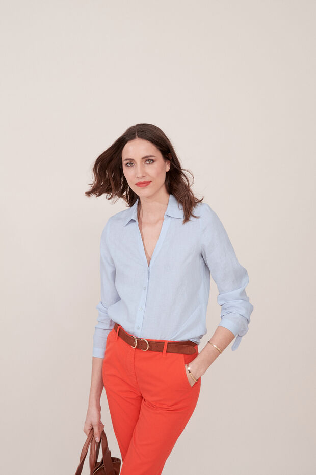 Camisa de lino Trevol