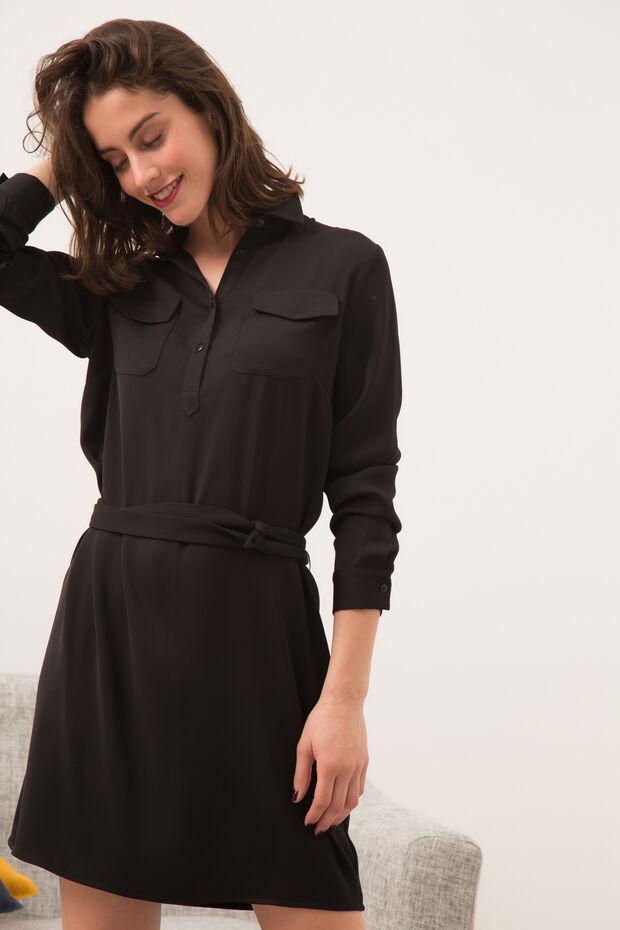 b5b95d543334 Robe Francesca   Robe femme Noir en à 90.00 €