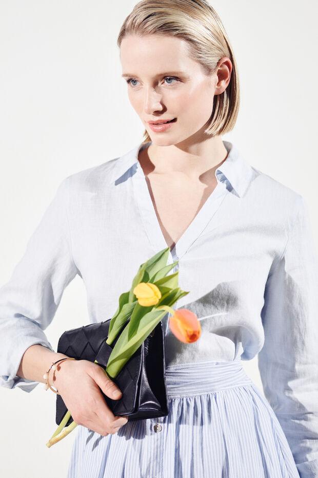 Camisa Trevol 100% linho - Caroll