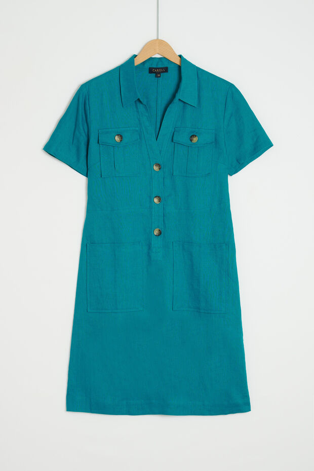 robe laure 100% lin - Caroll