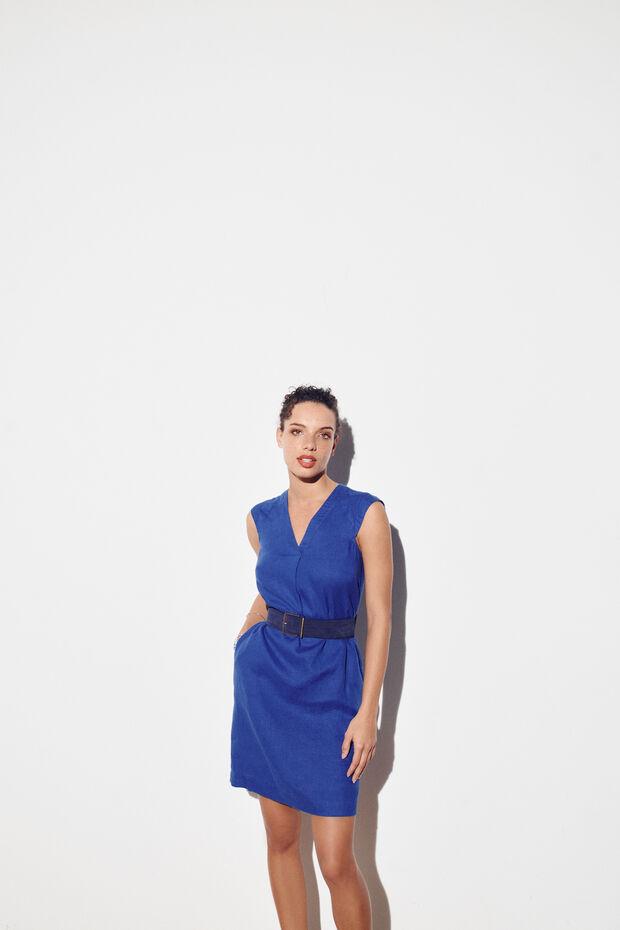 Vestido Pamela 100% linho - Caroll