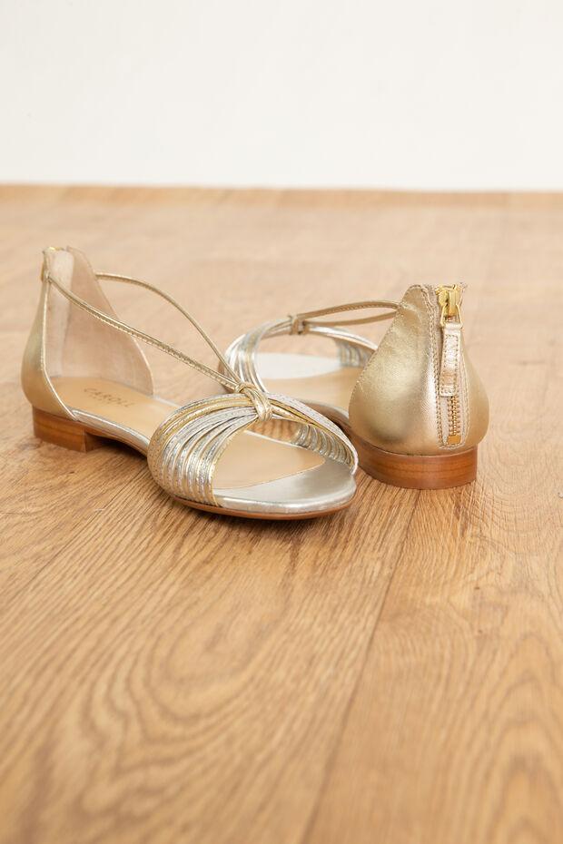 Sandales en cuir Claire