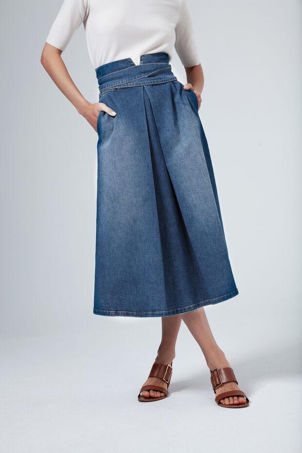 """Résultat de recherche d'images pour """"caroll jupe jean"""""""