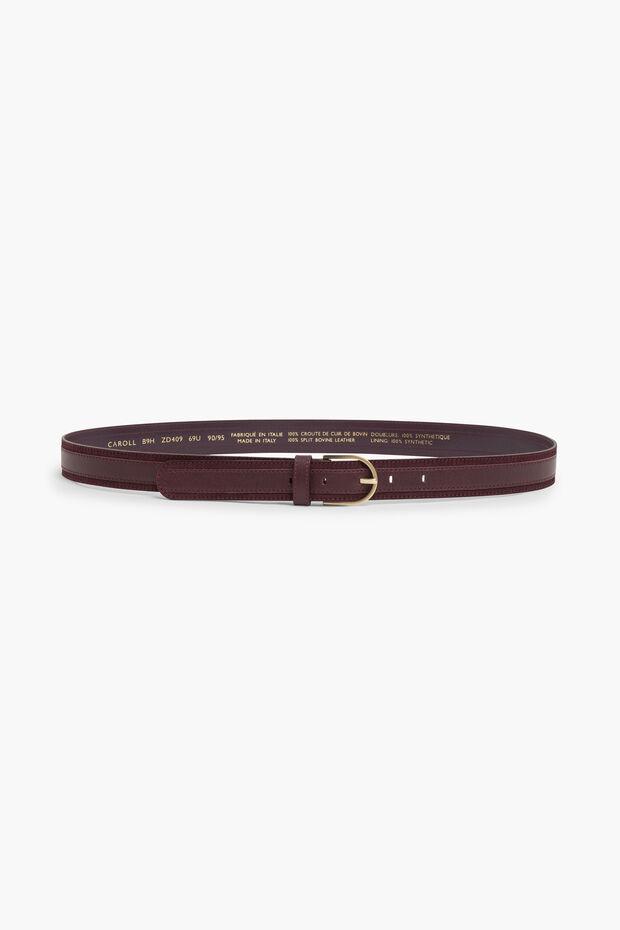 Cinturón de cuero Cerafine