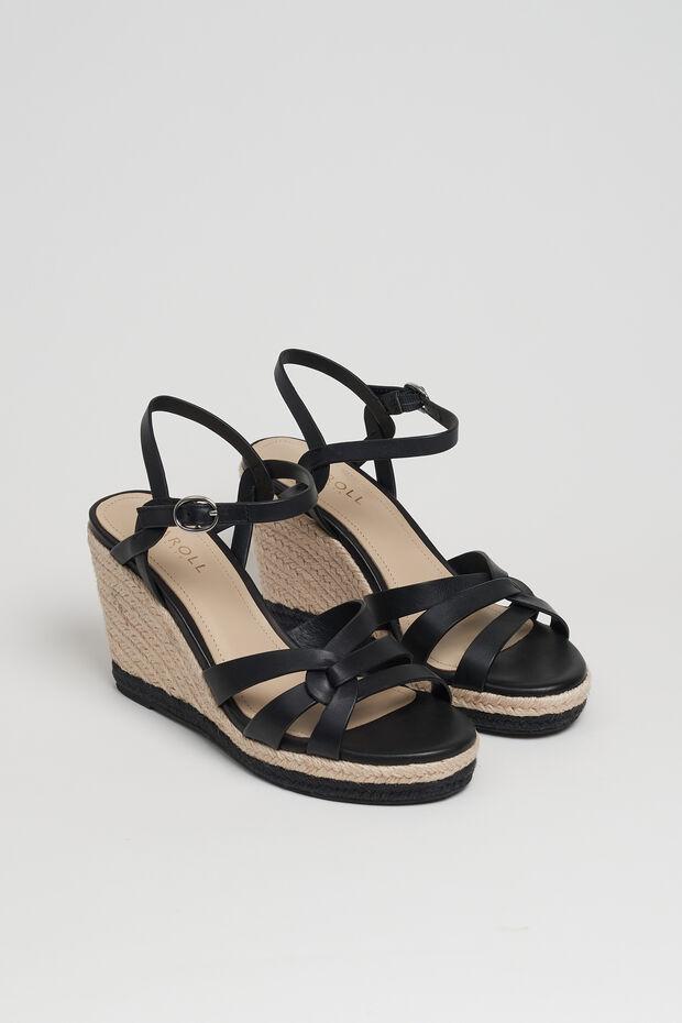 Sandálias Cintya 100% couro - Caroll