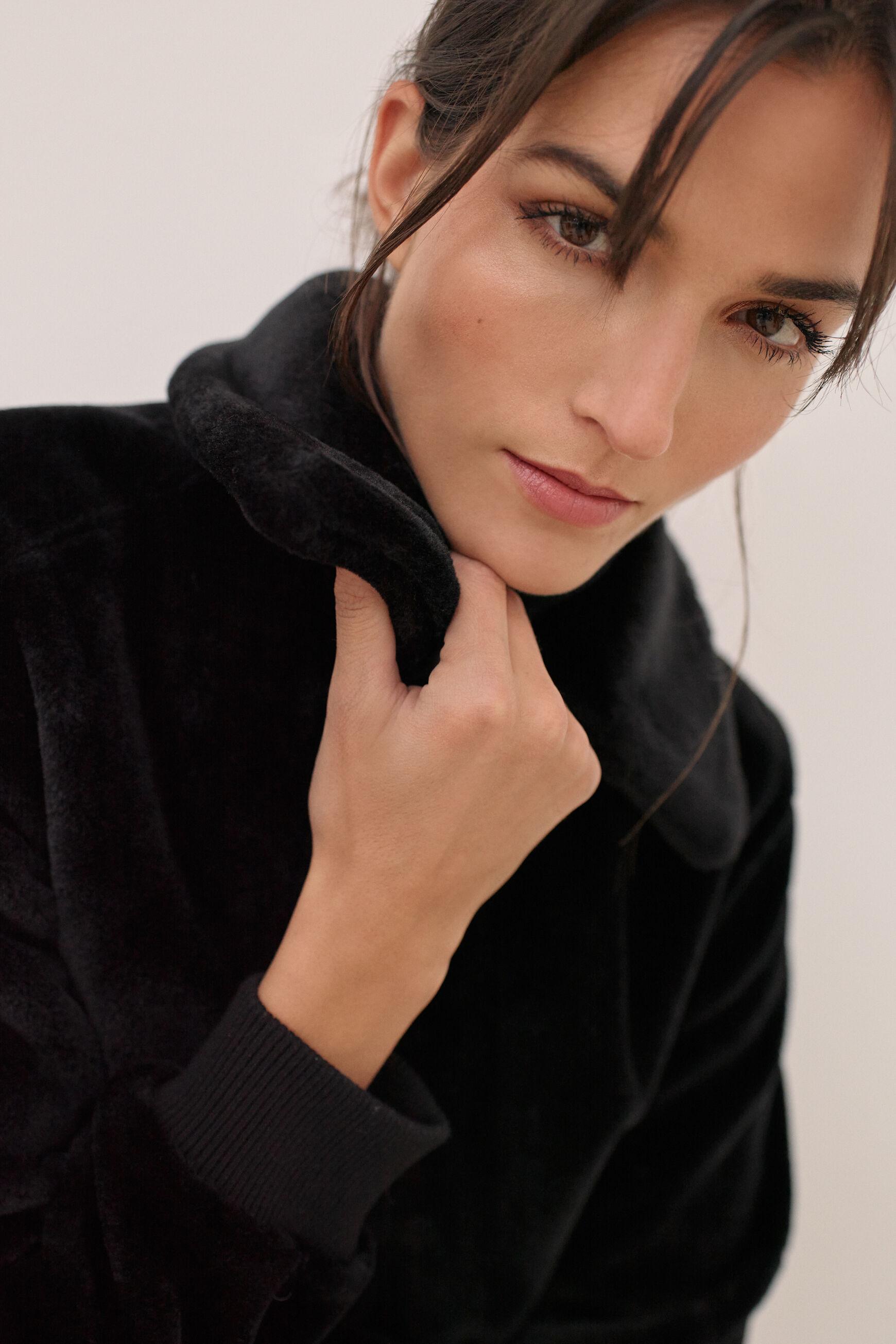 Manteau fausse peau Jean : Manteau femme Kaki | CAROLL