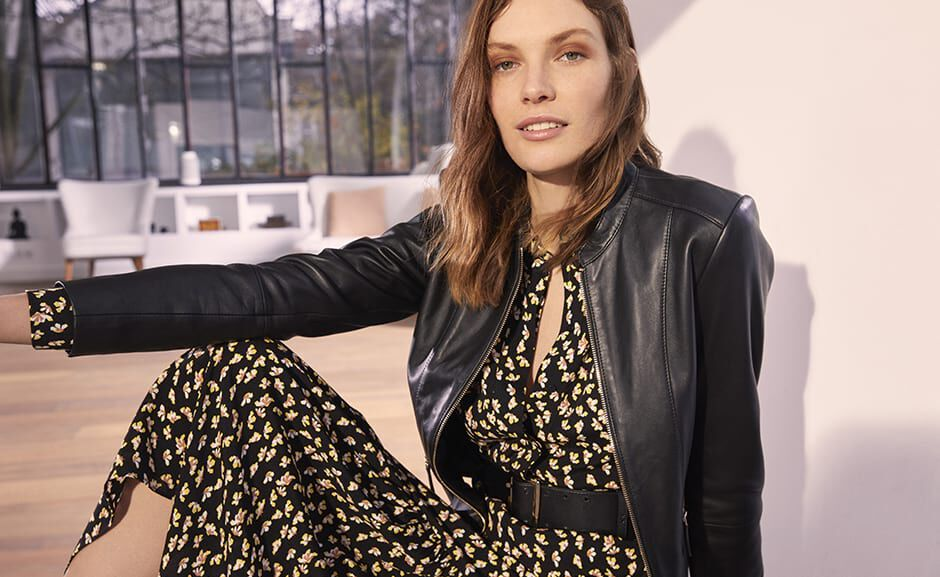 Caroll - Collection Printemps 2019 - look numéro 1
