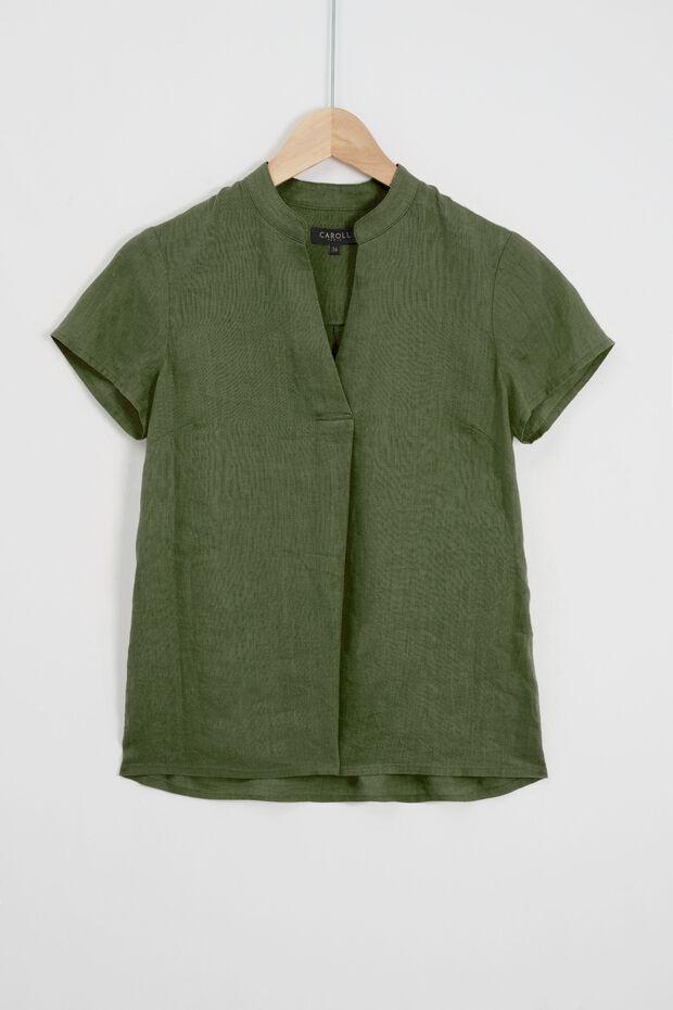 camicia kat 100% lino - Caroll