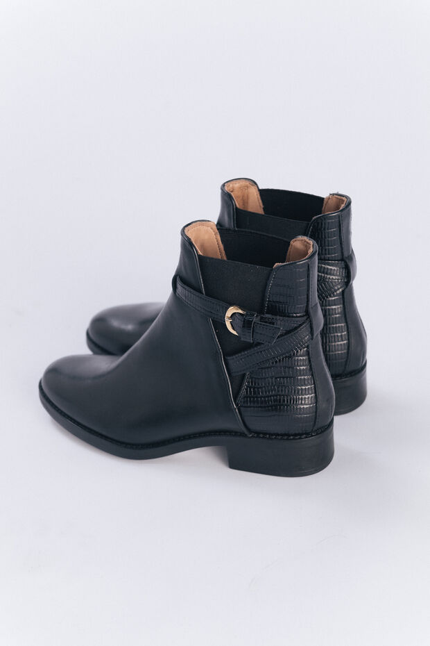 Bottines en cuir Calisse