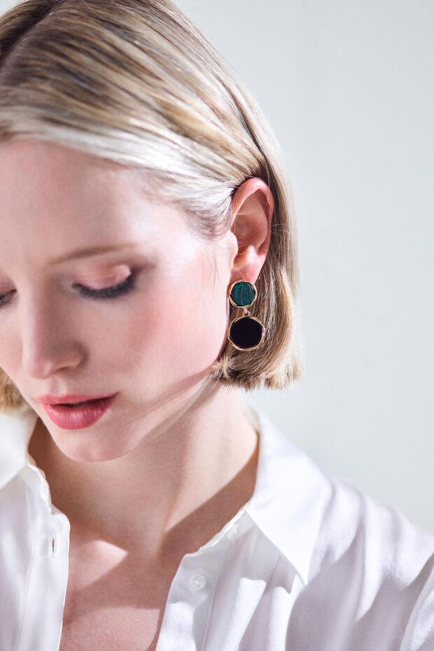 boucle oreille leotie - Caroll