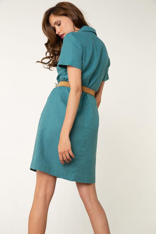 Linnen jurk Laura