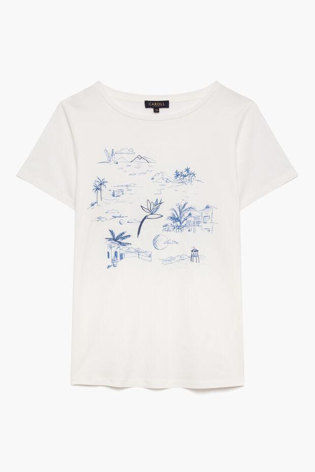 T-shirt Maiwenn - Caroll