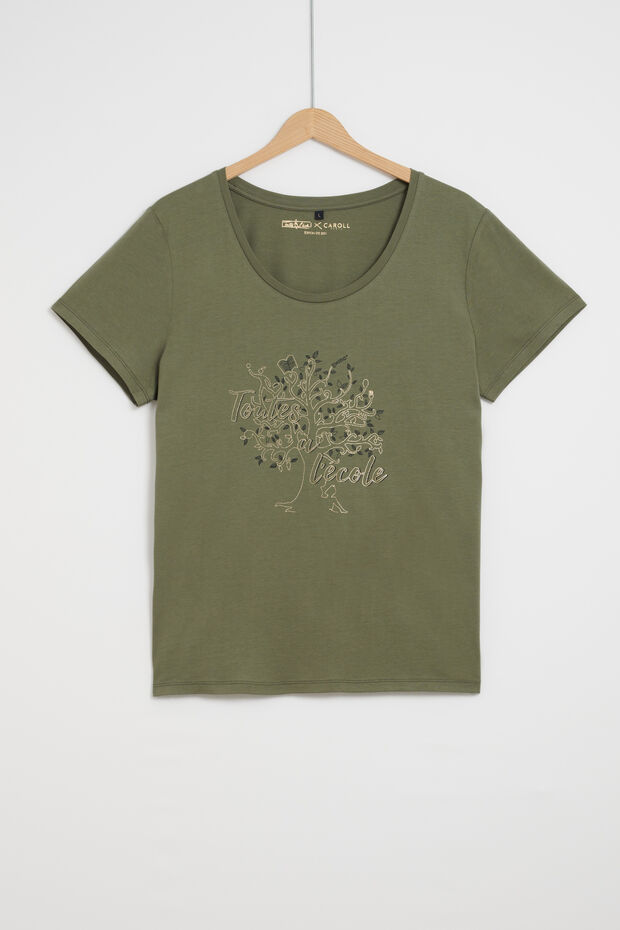 nessa camiseta t. ecole - Caroll