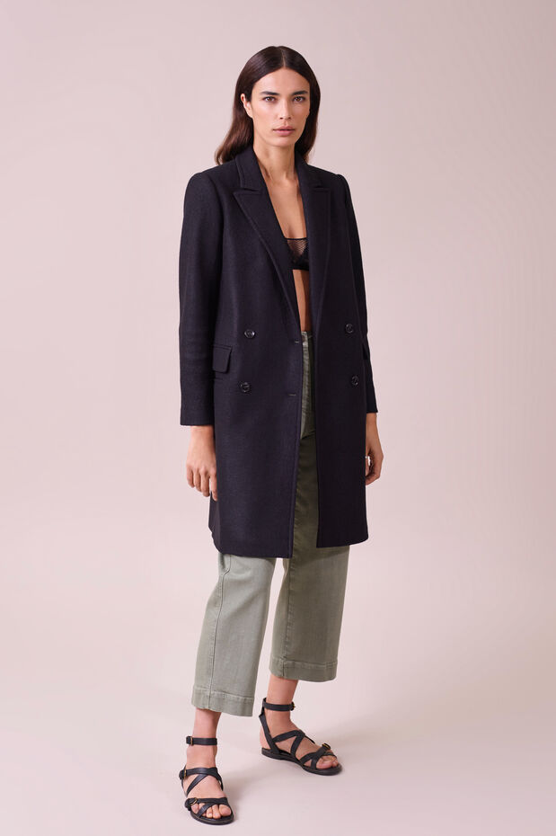 Cappotto in lana Scouby