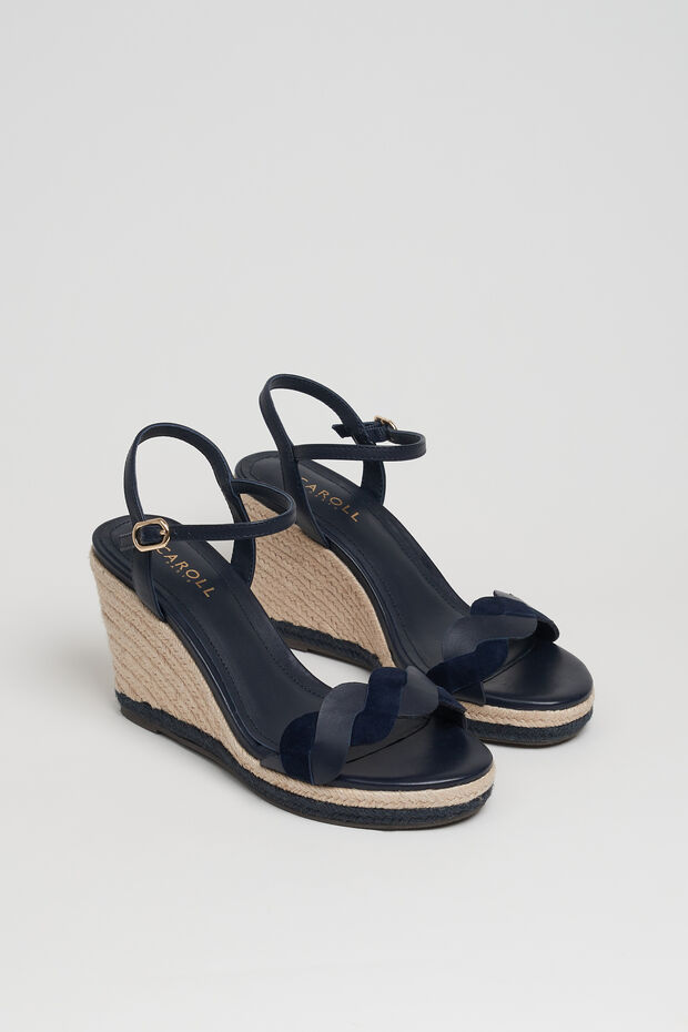 sandale barbara 100% cuir - Caroll