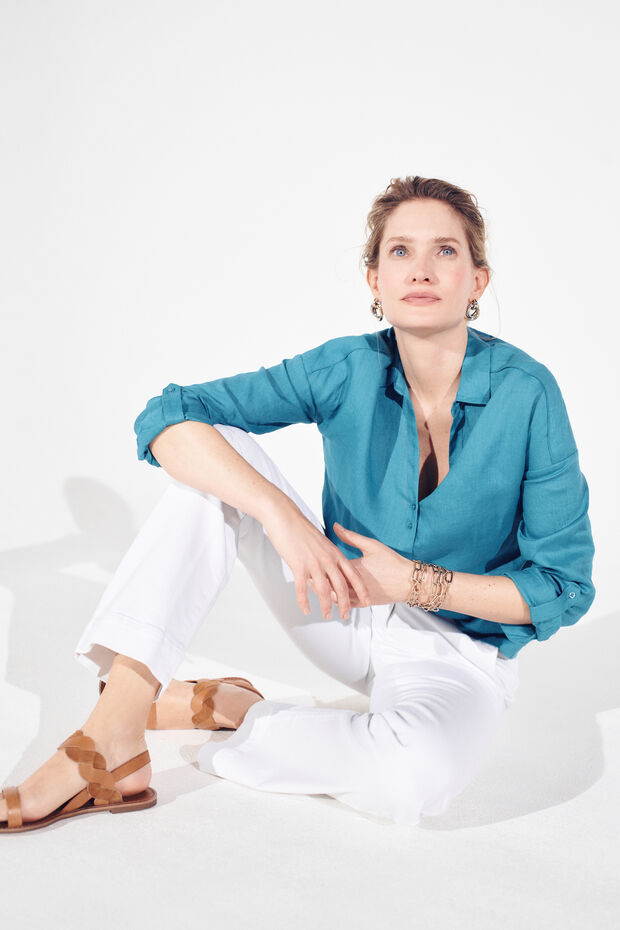 chemise trevise 100% lin - Caroll